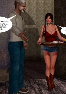 Lost Bet – Petra Helps The Elderly image 11