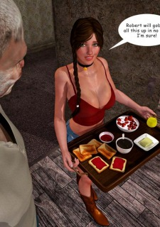 Lost Bet – Petra Helps The Elderly image 12