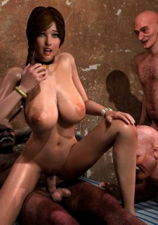 Lost Bet – Petra Helps The Elderly image 138