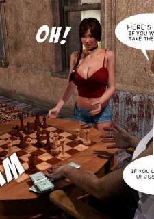 Lost Bet – Petra Helps The Elderly image 22