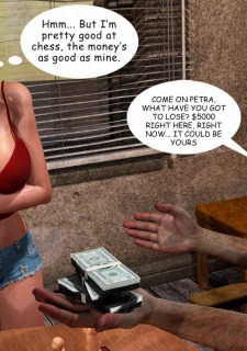 Lost Bet – Petra Helps The Elderly image 24