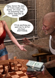 Lost Bet – Petra Helps The Elderly image 25