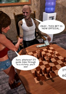 Lost Bet – Petra Helps The Elderly image 29