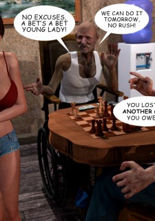 Lost Bet – Petra Helps The Elderly image 32