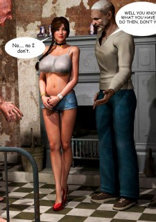 Lost Bet – Petra Helps The Elderly image 40