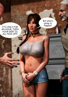 Lost Bet – Petra Helps The Elderly image 41