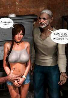 Lost Bet – Petra Helps The Elderly image 42