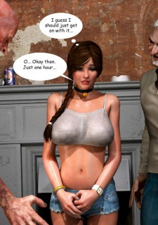 Lost Bet – Petra Helps The Elderly image 43