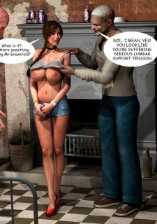 Lost Bet – Petra Helps The Elderly image 45
