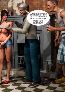 Lost Bet – Petra Helps The Elderly image 46