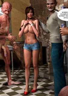 Lost Bet – Petra Helps The Elderly image 48