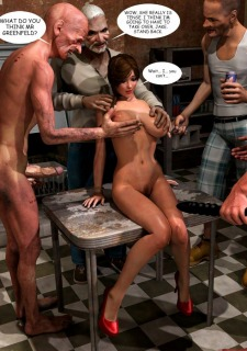 Lost Bet – Petra Helps The Elderly image 72