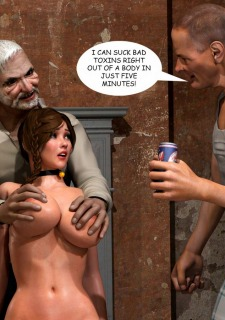 Lost Bet – Petra Helps The Elderly image 75