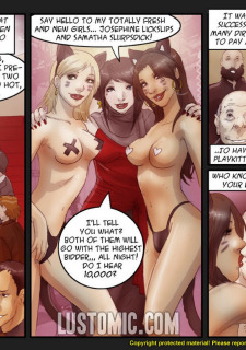 Lustomic- Playkittens Josh & Samuel porn comics 8 muses