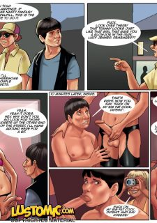 Lustomic- Twins porn comics 8 muses