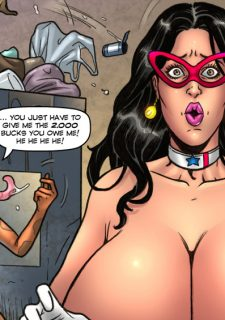 Major Wonder- Lust Alley – Superheroine image 10