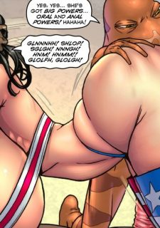 Major Wonder- Lust Alley – Superheroine image 112