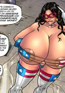 Major Wonder- Lust Alley – Superheroine image 22