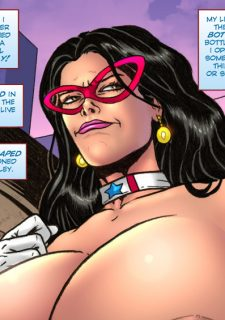 Major Wonder- Lust Alley – Superheroine image 24