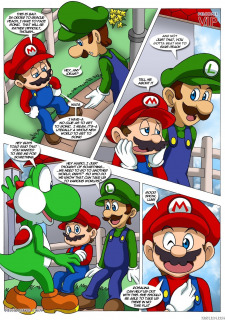 Mario and Sonic- Palcomix image 4