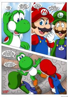 Mario and Sonic- Palcomix image 5