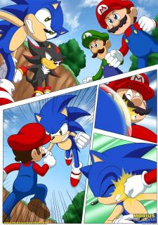 Mario and Sonic- Palcomix image 18