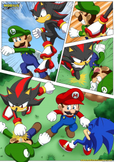 Mario and Sonic- Palcomix image 19