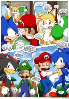 Mario and Sonic- Palcomix image 21