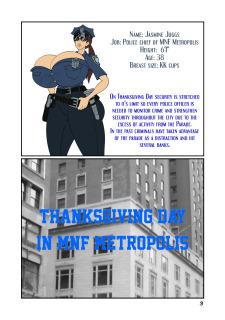 Meet'n'Fuck- Officer Juggs Thanksgiving Parade image 3