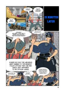 Meet'n'Fuck- Officer Juggs Thanksgiving Parade image 6