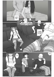 Midnight Movie Night- Shadowfenrir image 11