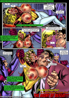 Mighty Girl – Guess Who's Coming As Dinner porn comics 8 muses