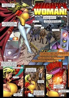 Mighty Woman Prime in Primary Target- Superheroine Central image 02