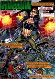 Mighty Woman Prime in Primary Target- Superheroine Central image 03