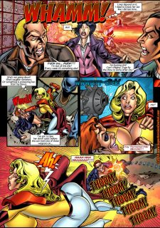 Mighty Woman Prime in Primary Target- Superheroine Central image 05