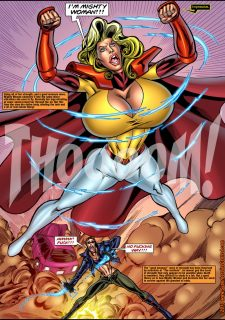 Mighty Woman Prime in Primary Target- Superheroine Central image 08