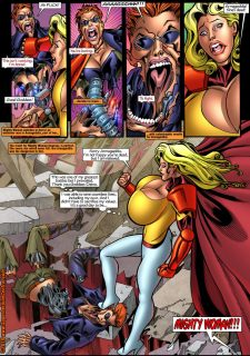 Mighty Woman Prime in Primary Target- Superheroine Central image 12