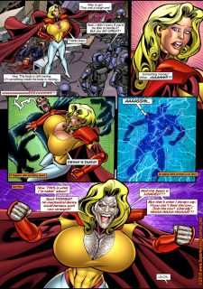 Mighty Woman Prime in Primary Target- Superheroine Central image 13