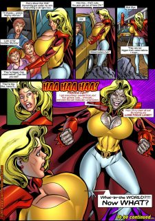 Mighty Woman Prime in Primary Target- Superheroine Central image 16