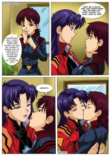 Misato's New Girlfriend- Pal Comix image 15