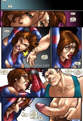 Breaking up Aya- Legio porn comics 8 muses