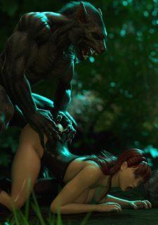 Monster Sex Trilogy Ch. 2 – Big Bad Wolf image 22