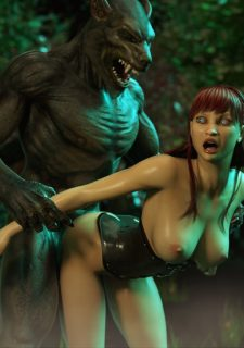 Monster Sex Trilogy Ch. 2 – Big Bad Wolf image 31