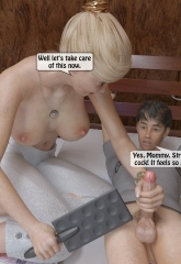 A Mother Punishes Son image 19