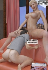 A Mother Punishes Son image 30
