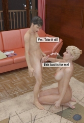 A Mother Punishes Son image 48