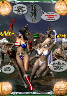 Ms Americana and Got Gal- Nightmare Witch image 2