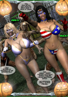 Ms Americana and Got Gal- Nightmare Witch image 5