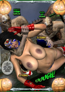 Ms Americana and Got Gal- Nightmare Witch image 8