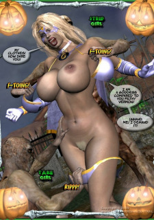 Ms Americana and Got Gal- Nightmare Witch image 10